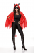Wicked Ways Cape Kit (Red and Black)